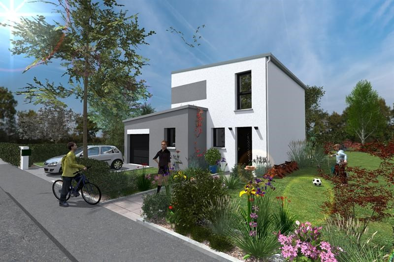Maison  5 pièces + Terrain 482 m² Vertou (44120) par ESPACE HABITAT