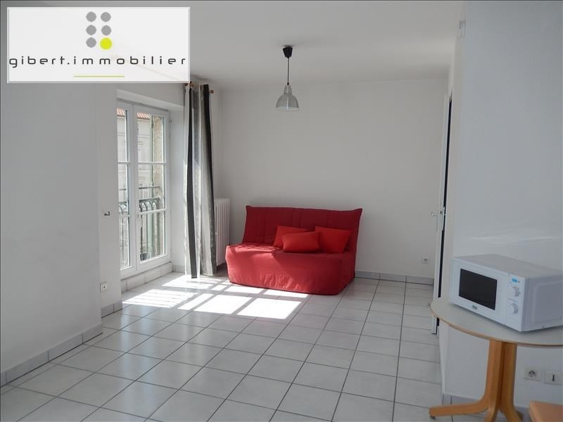Rental apartment Le puy en velay 341,79€ CC - Picture 1