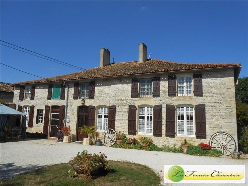 Vente maison / villa Chef boutonne 283500€ - Photo 1