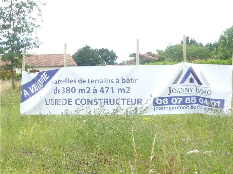 Vente terrain Tonnay charente 39000€ - Photo 1