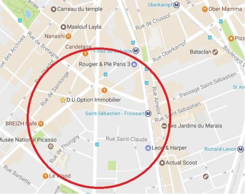 Location boutique Paris 3ème 3200€ HT/HC - Photo 1