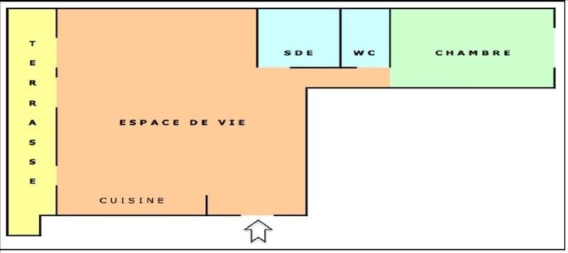 Vermietung wohnung Marseille 5ème 590€ CC - Fotografie 6