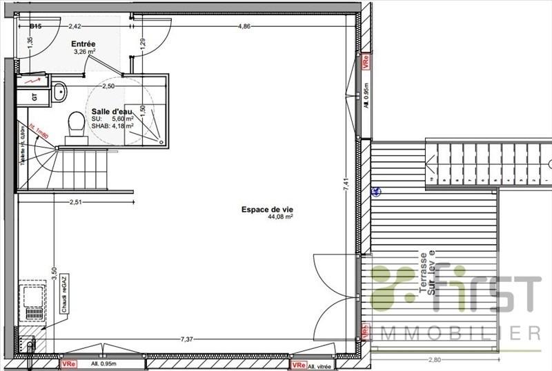 Sale house / villa Vetraz monthoux 494000€ - Picture 6