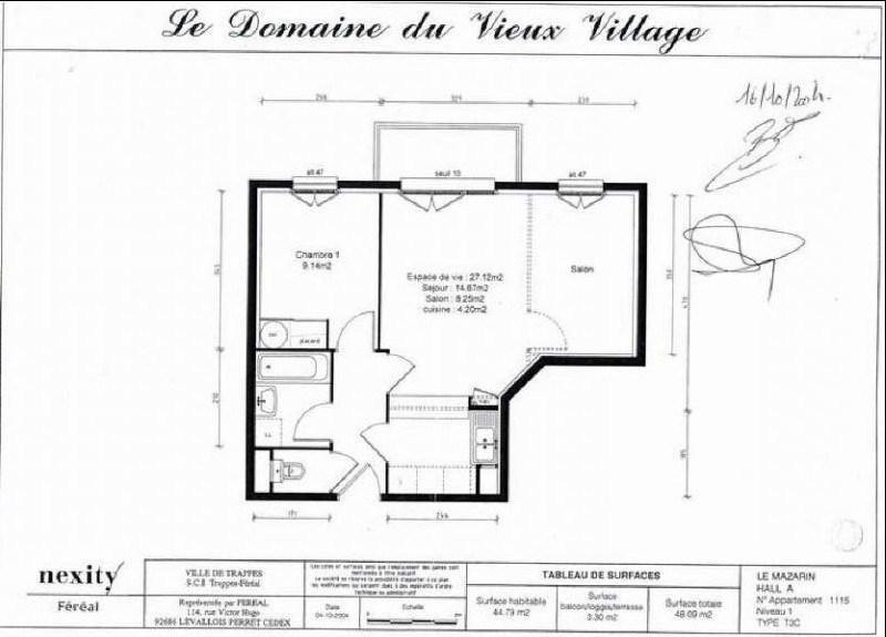 Alquiler  apartamento Trappes 790€ CC - Fotografía 2