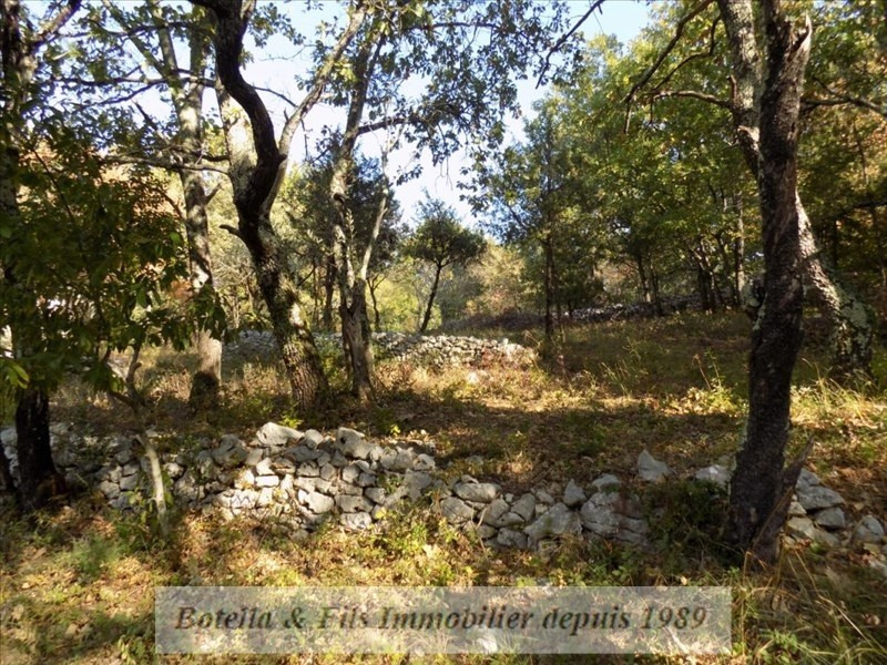 Vendita terreno Barjac 94500€ - Fotografia 4