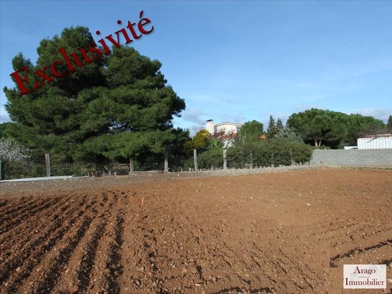 Vente terrain Salses le chateau 88000€ - Photo 1