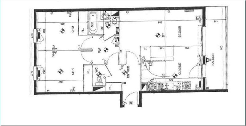 Location appartement Orvault 711€ CC - Photo 3