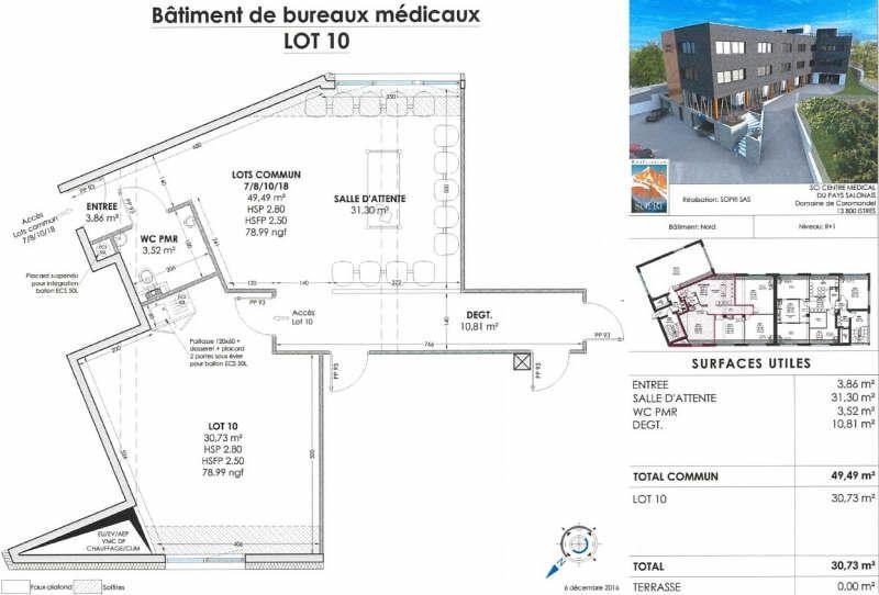 Vendita ufficio Salon de provence 185000€ - Fotografia 2