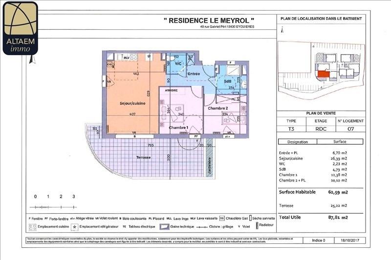 Vente appartement Eyguieres 218800€ - Photo 2