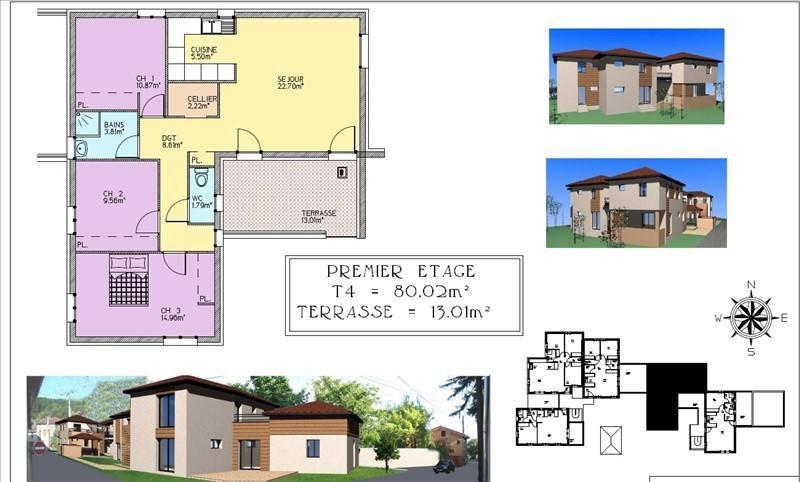 Venta  apartamento Bourgoin jallieu 219000€ - Fotografía 8