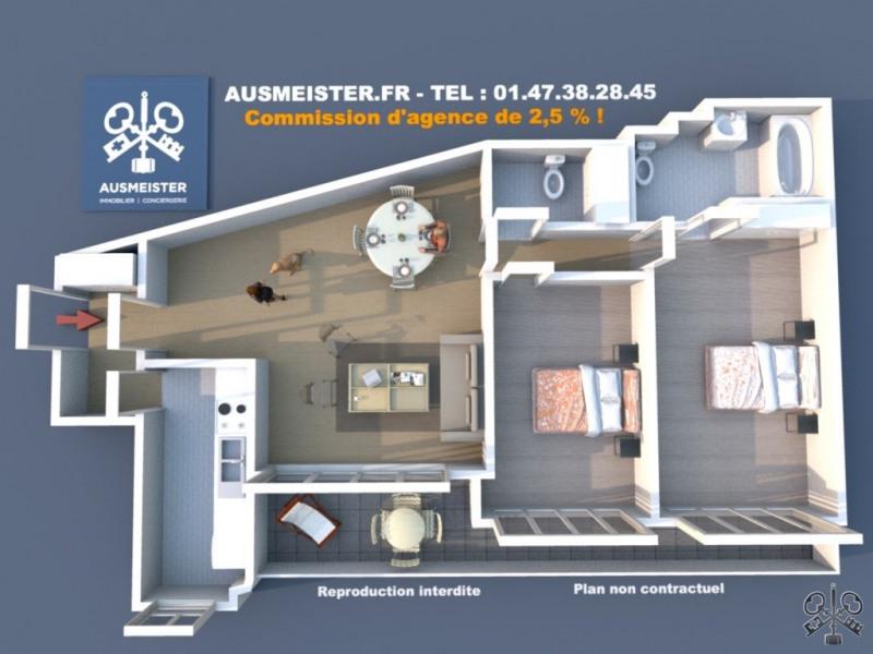Sale apartment Neuilly sur seine 850000€ - Picture 1