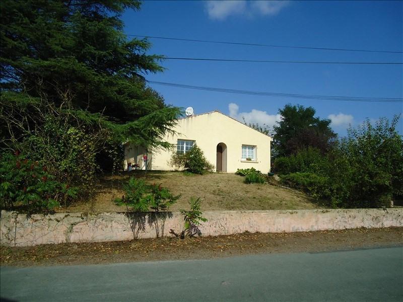 Vente maison / villa St georges de pointindoux 158000€ - Photo 1