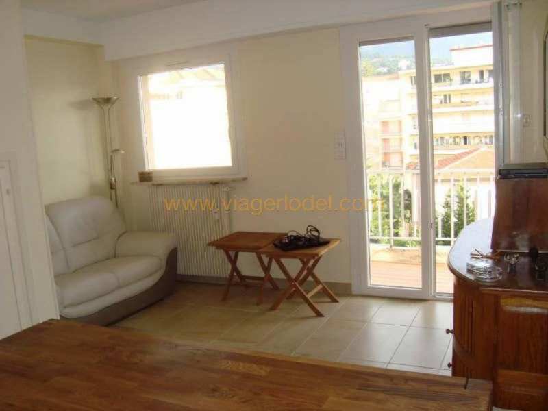 Viager appartement Menton 50 000€ - Photo 1