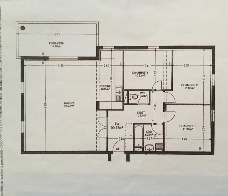 Venta  apartamento Saverne 242000€ - Fotografía 2