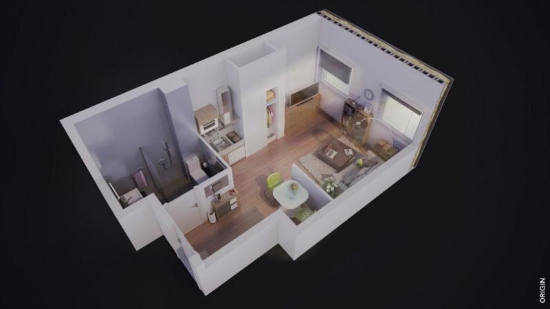 Vente appartement Strasbourg 114500€ - Photo 1
