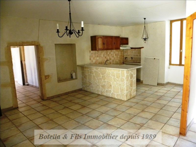 Vente maison / villa Goudargues 133000€ - Photo 2