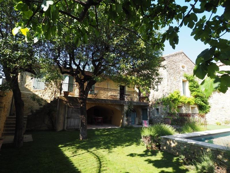 Vente de prestige maison / villa Uzes 640000€ - Photo 1