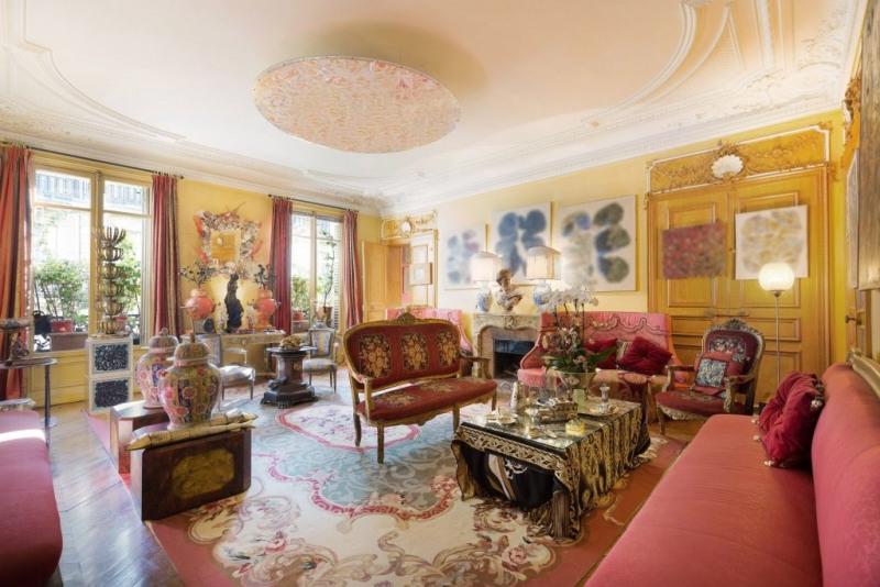 Revenda residencial de prestígio apartamento Paris 8ème 3990000€ - Fotografia 2