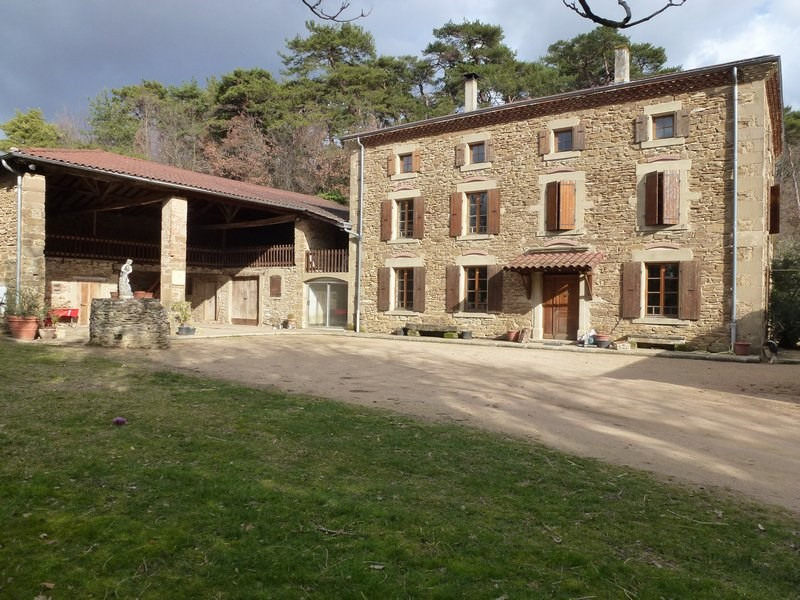 Vente maison / villa Chateauneuf de galaure 400000€ - Photo 1