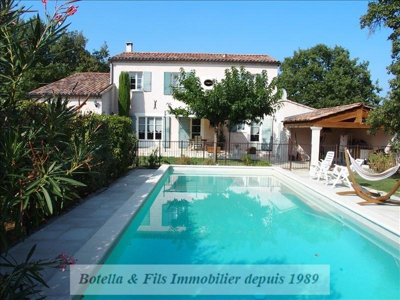 Vente de prestige maison / villa Uzes 465000€ - Photo 1