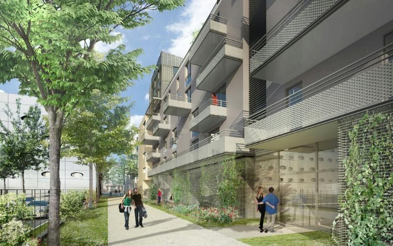 Coeur sainte catherine programme immobilier neuf nancy for Rue catherine opalinska nancy