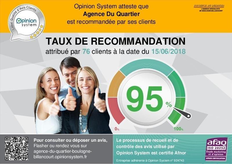 Venta  apartamento Boulogne-billancourt 467000€ - Fotografía 10