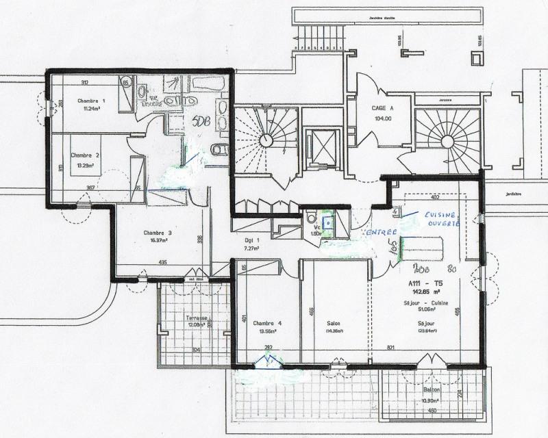 Vente appartement Fayence 390000€ - Photo 5