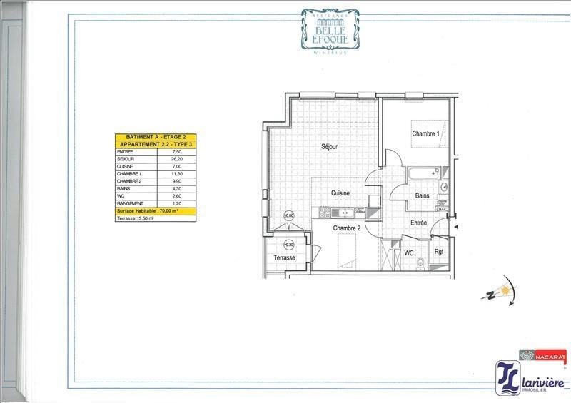 Sale apartment Wimereux 262000€ - Picture 2