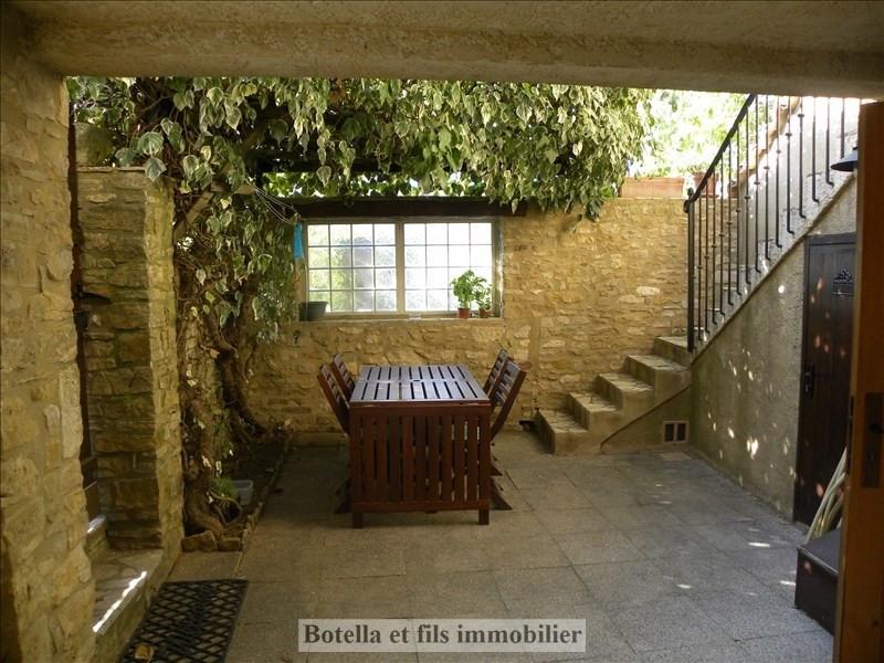 Vente maison / villa Goudargues 112000€ - Photo 1