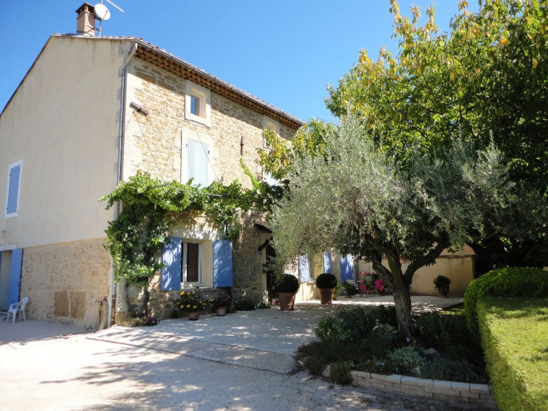 Deluxe sale house / villa Althen des paluds 1 495 000€ - Picture 1