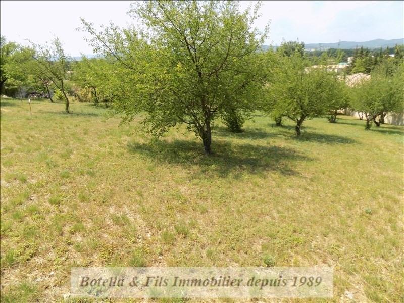 Vendita terreno Barjac 98000€ - Fotografia 3
