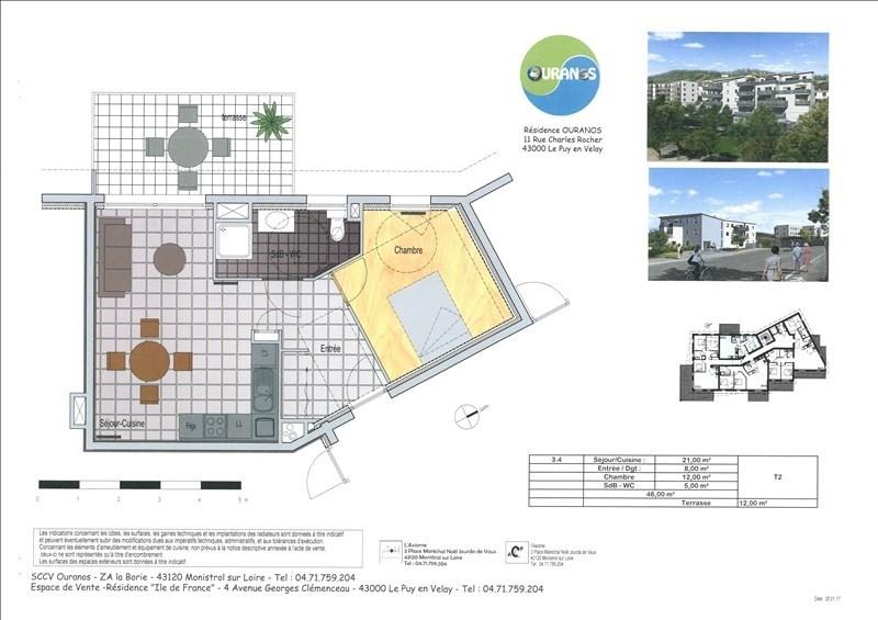 Vente appartement Le puy en velay 125350€ - Photo 3