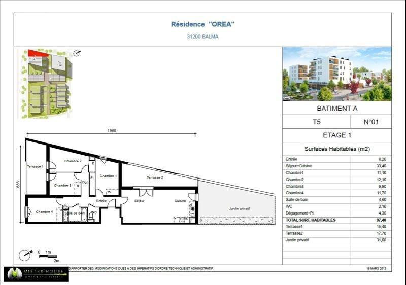 Verkoop nieuw  woningen op tekening Balma  - Foto 5