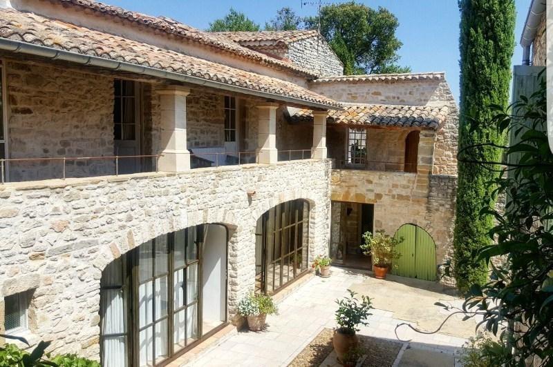 Venta de prestigio  casa Uzes 892500€ - Fotografía 1