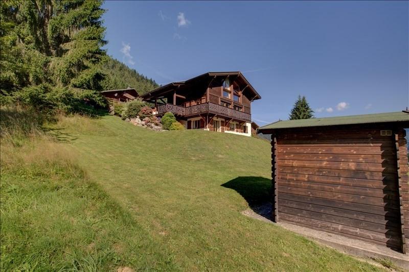 Verkoop van prestige  huis La cote d arbroz 950000€ - Foto 2