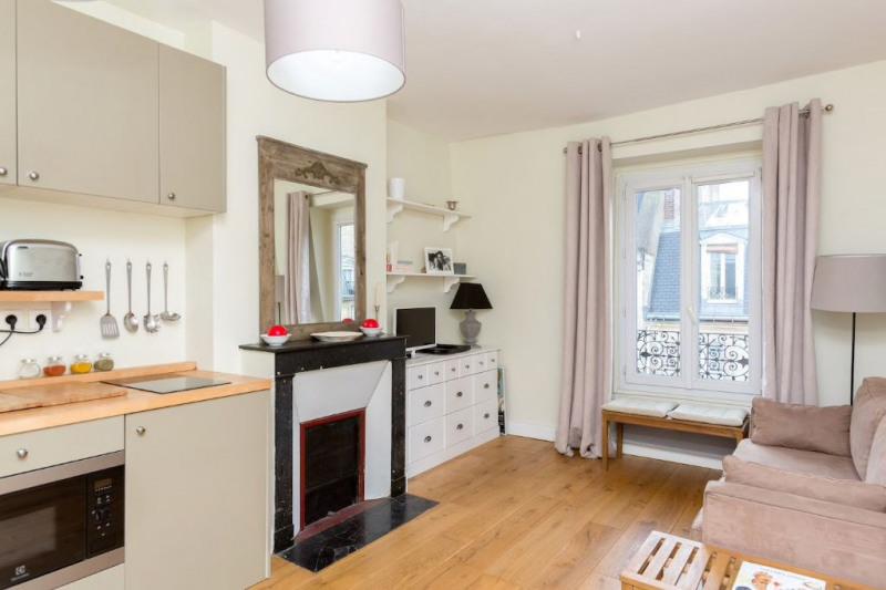 Verkoop  appartement Paris 17ème 320000€ - Foto 1
