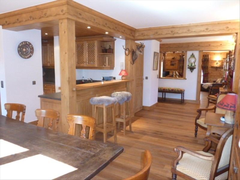 Vente de prestige appartement Megeve 1260000€ - Photo 4