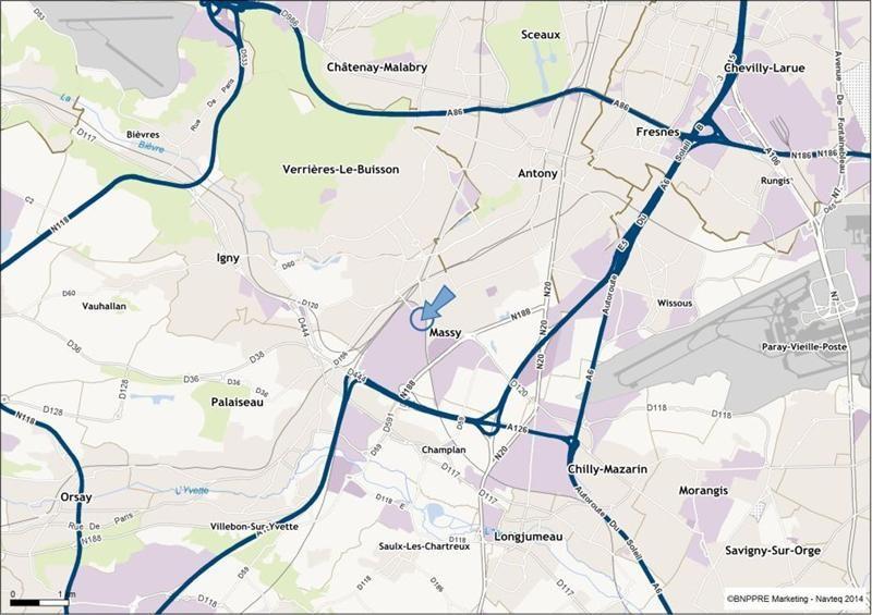Location Local d'activités / Entrepôt Massy 0