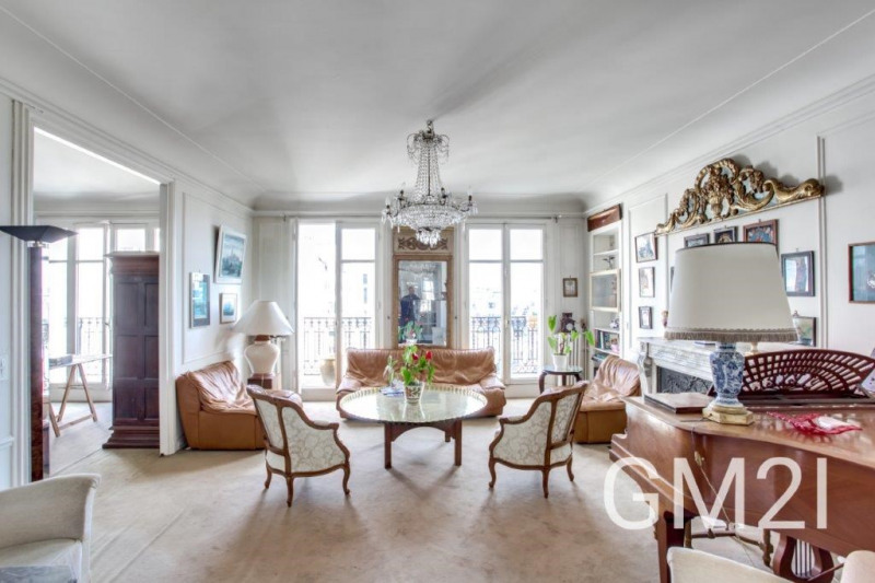 Vente de prestige appartement Paris 16ème 2100000€ - Photo 4