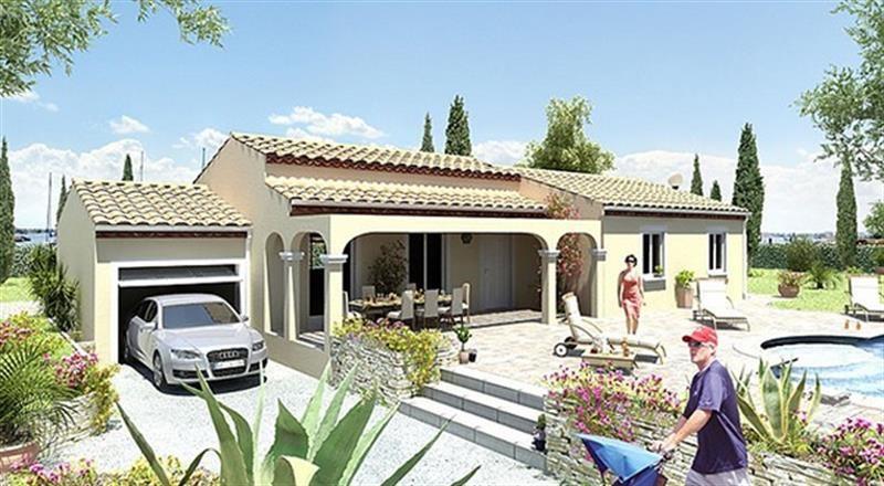 """Modèle de maison  """"Modèle Mars maison 4 pièces"""" à partir de 4 pièces Hérault par MAISONS GUITARD"""