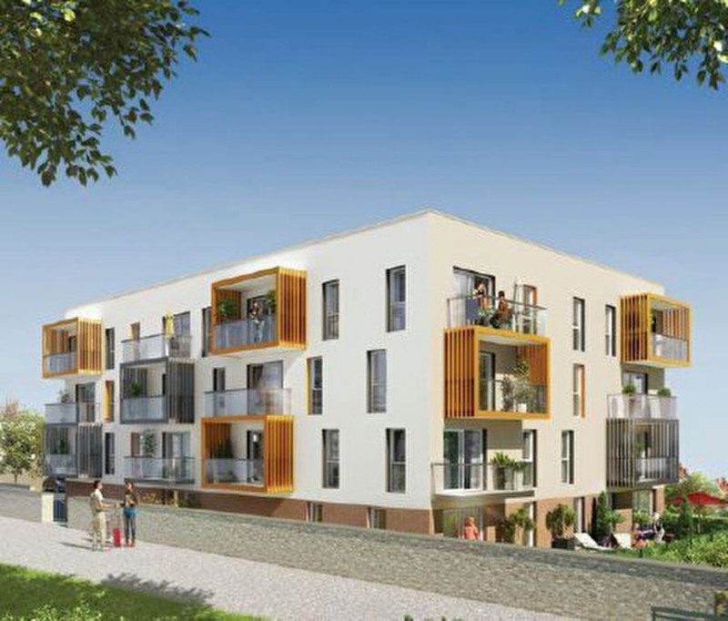 Rental apartment Brest 462€ CC - Picture 1