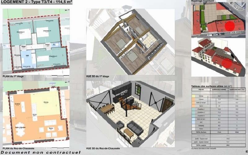 Sale apartment Niort 210940€ - Picture 1