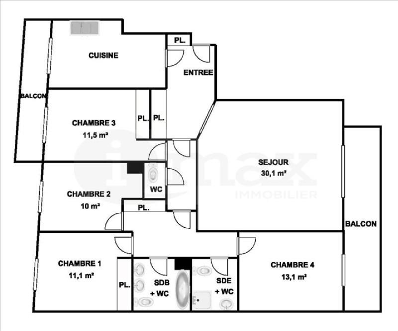 Vente de prestige appartement Levallois perret 1249000€ - Photo 5
