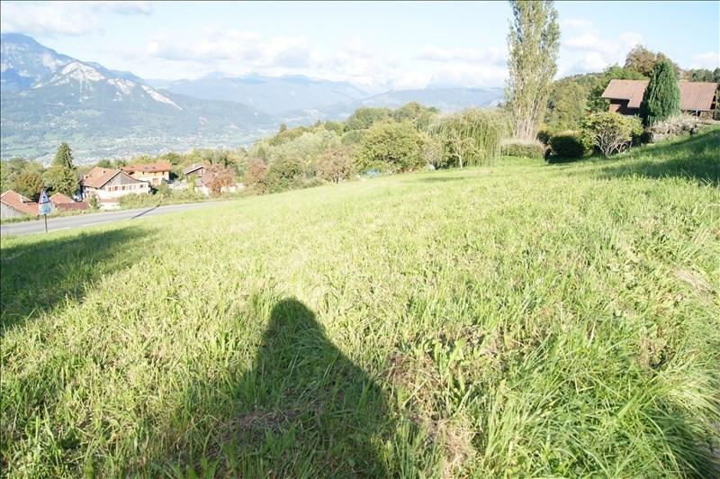 Vente terrain Mont saxonnex 155000€ - Photo 1