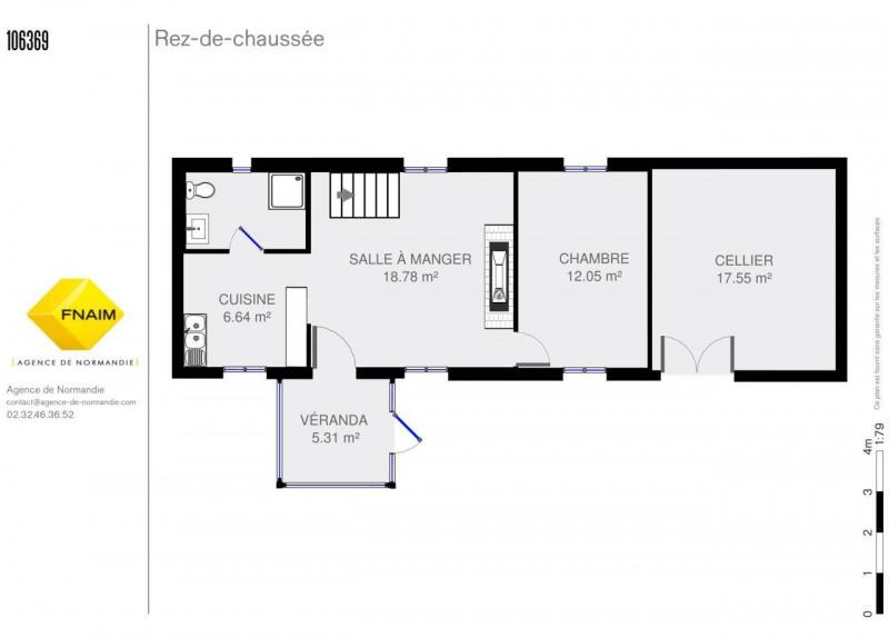 Vente maison / villa Montreuil-l'argille 103000€ - Photo 3