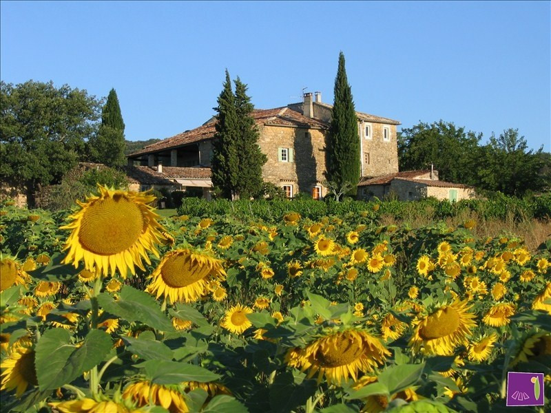 Vente de prestige maison / villa Barjac 995000€ - Photo 1