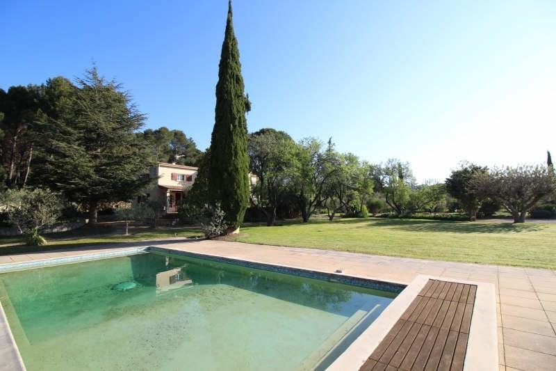 Deluxe sale house / villa Pelissanne 595000€ - Picture 1
