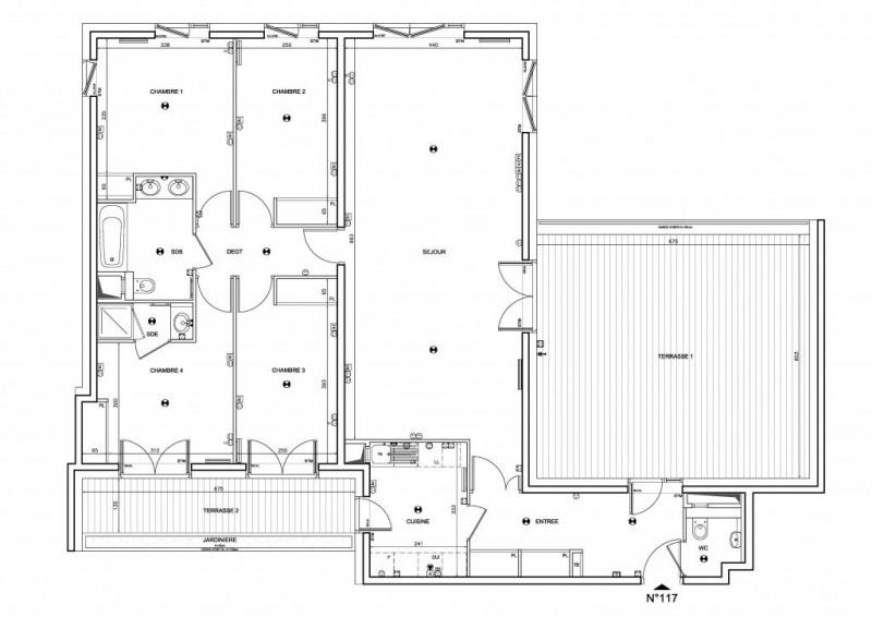 Vente de prestige appartement Boulogne-billancourt 1268000€ - Photo 1