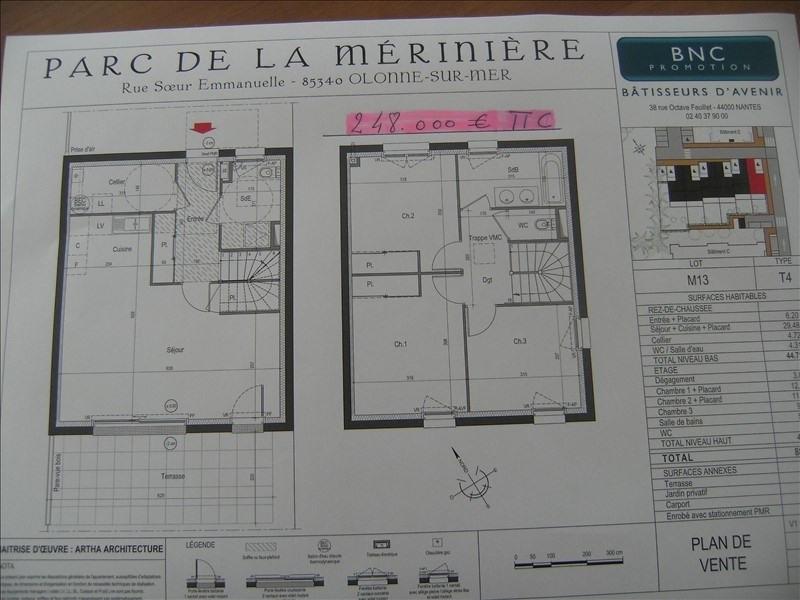 Vente maison / villa Olonne sur mer 248000€ - Photo 2