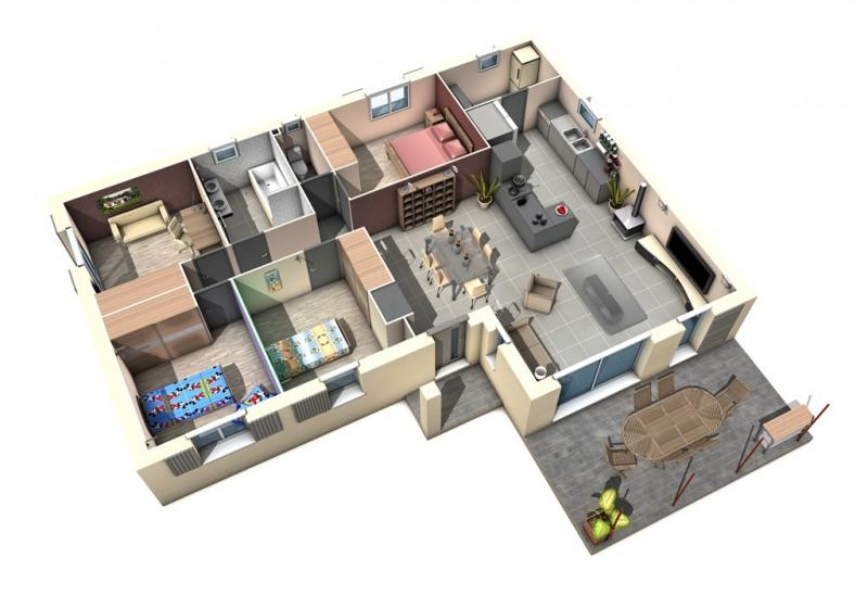 Maison  4 pièces + Terrain 800 m² Saint-Antonin-du-Var par MAISONS D'EN FRANCE MIDI-MÉDITERRANÉE SALON